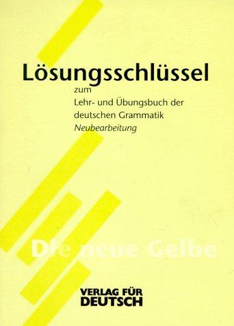 9783885327189: Chen Grammatik - Key to Practice Grammar of German - Dreyer: Schlussel (German Edition)