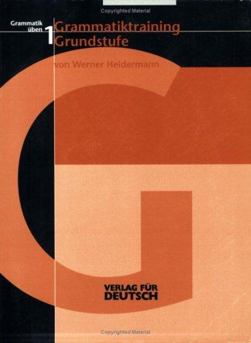 9783885327332: Grammatik Uben: Grammatiktraining Grundstufe (German Edition)