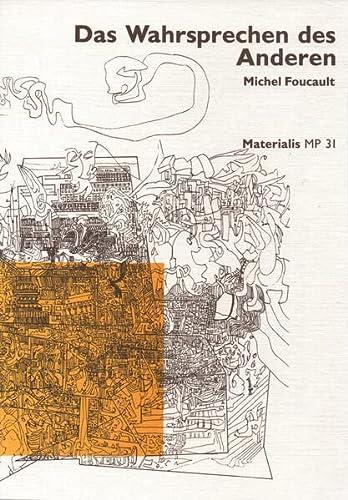 9783885351061: Das Wahrsprechen des Anderen: Zwei Vorlesungen von 1983/84 (Livre en allemand)