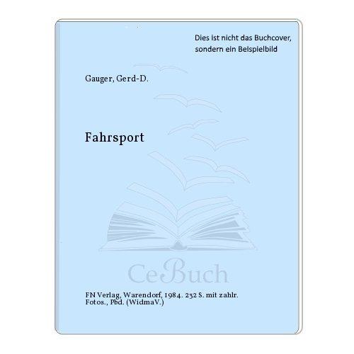FAHRSPORT: Gauger Gerd D