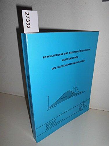 9783885620181: Psychiatrische und Medizinpsychologische Messverfahren des deutschsprachigen Raumes