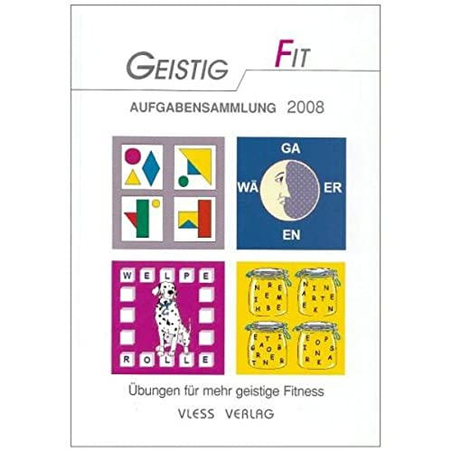 9783885621102: Geistig fit Aufgabensammlung 2008