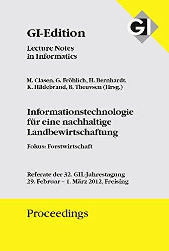 GI Proceedings 194 Informatiostechnologie für eine nachhaltige Landbewirtschaftung: Michael ...