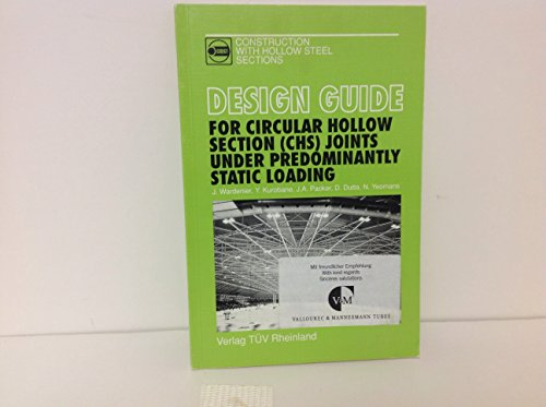 9783885859758: Design Guide for Circular Hollow Section (Chs) Joints under Predominantly Static Loading