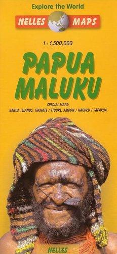9783886182978: Papua-Maluku Map by Nelles