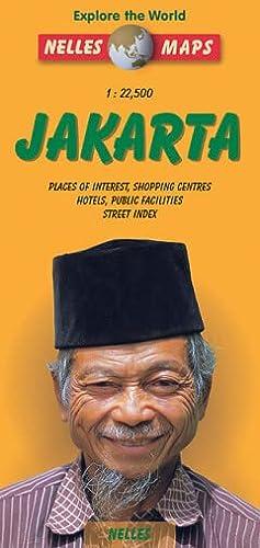9783886185412: Nelles Jakarta Travel Map (Nelles Map)