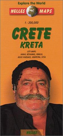 Kreta Crete Travel Map: With City Maps