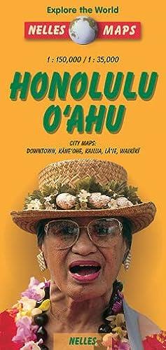 9783886186808: Nelles Honolulu O'ahu Travel Map (Nelles Map)