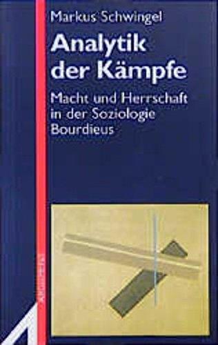 9783886192151: Analytik der Kämpfe: Macht und Herrschaft in der Soziologie Bourdieus (Argument-Sonderband) (German Edition)