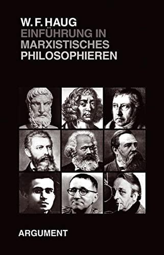 9783886193318: Einführung ins marxistische Philosophieren: Die Abschiedsvorlesung