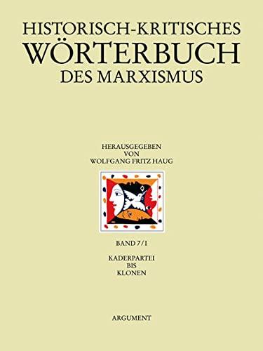 Historisch-kritisches Wörterbuch des Marxismus: Frigga Haug
