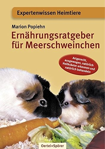 9783886273065: Ernährungsbuch für Meerschweinchen