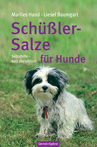 9783886279050: Schüßler-Salze für Hunde