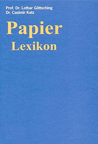 9783886400805: Papier Lexikon (3 Bde.)
