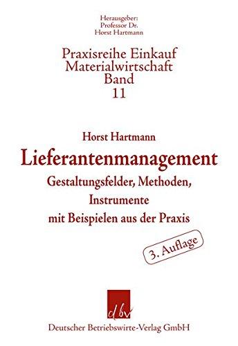 9783886401734: Lieferantenmanagement