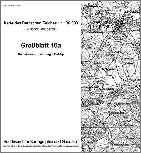9783886481187: KDR 100 GB Gumbinnen - Insterburg - Goldap