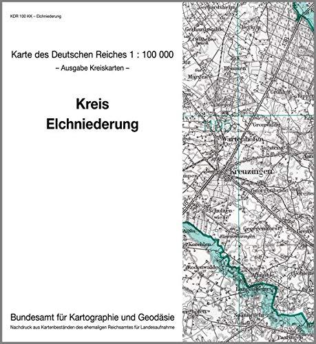 9783886481842: KDR 100 KK Elchniederung: Karte des Deutschen Reiches 1:100.000, Kreiskarte