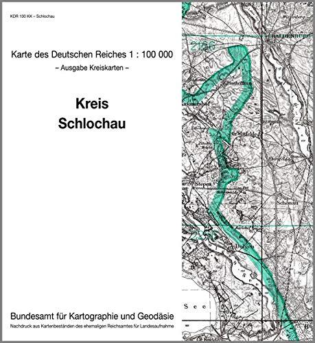 9783886482443: KDR 100 KK Schlochau: Karte des Deutschen Reiches 1:100.000, Kreiskarte
