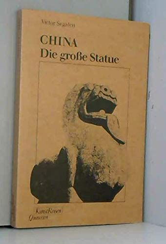9783886552139: China, Die grosse Statue