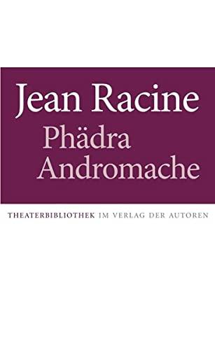 9783886610747: Phädra / Andromache: Zwei Stücke