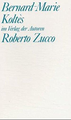 9783886611096: Roberto Zucco. Tabataba.