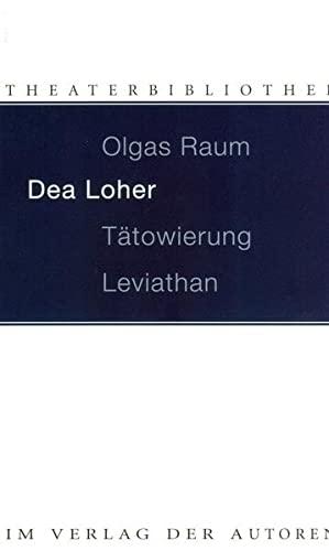 9783886611522: Olgas Raum / Tätowierung / Leviathan: Drei Stücke