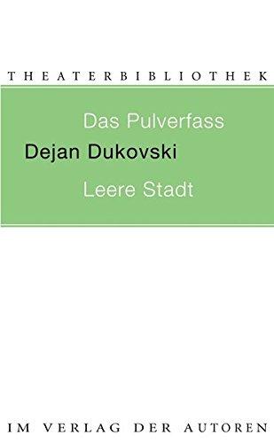 9783886613120: Das Pulverfass / Leere Stadt