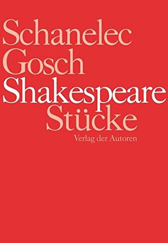 Shakespeare Stücke: Ein Sommernachtstraum, Macbeth, Hamlet, Was ihr wollt, Wie es euch gefällt, ...