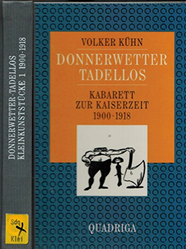9783886791613: Kleinkunststucke (German Edition)
