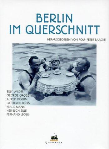 9783886793563: Berlin im Querschnitt.