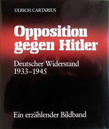 9783886801107: Deutscher Widerstand, 1933-1945: Opposition gegen Hitler