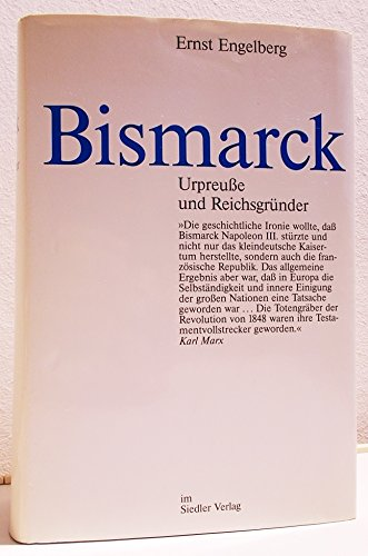 9783886801213: Bismarck: Urpreusse und Reichsgründer (German Edition)