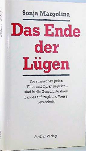 9783886804498: das_ende_der_lugen-russland_und_die_juden_im_20._jahrhundert