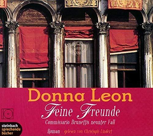 9783886985623: Feine Freunde. Commissario Brunettis neunter Fall. Roman. 7 CDs