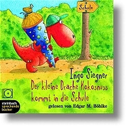 9783886987450: Der kleine Drache Kokosnuss kommt in die Schule. 1 CD