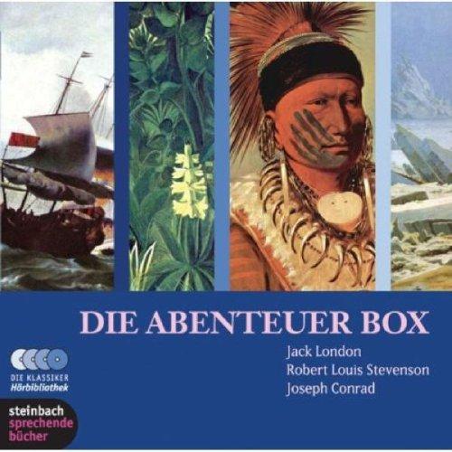 Die Abenteuerbox. 10 CDs: Fünf Abenteuergeschichten großer: London, Jack; Stevenson,