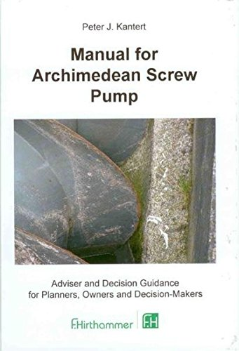 Manual for Archimedean Screw Pump