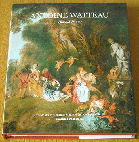 9783887250591: Watteau: A Lady at Her Toilet.