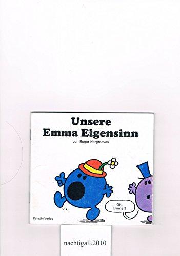 9783887270469: Unsere Emma Eigensinn
