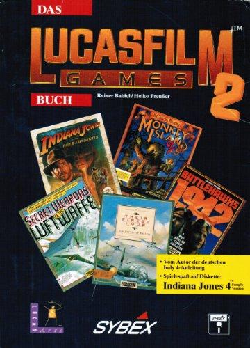 9783887452650: Das Lucasfilm Games Buch, m. Diskette (5 1/4 Zoll), Tl.2