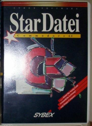 9783887454135: Commodore 64 StarDatei. Elektronischer Karteikasten mit Diskette und Buch