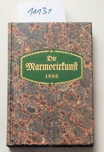 Die Marmorirkunst: Meußling Olaf., Boeck