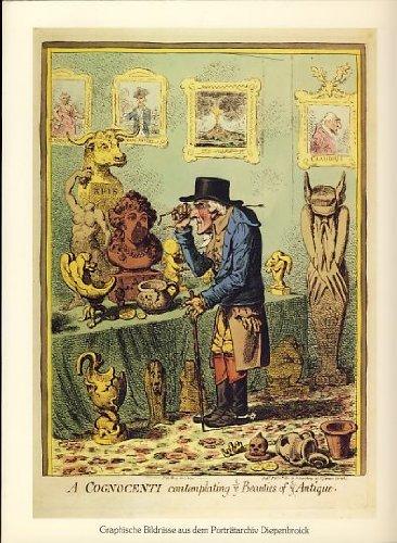 Der Archaologe: Graphische Bildnisse aus dem Porträtarchiv: Berghaus, Peter [Bearb.]: