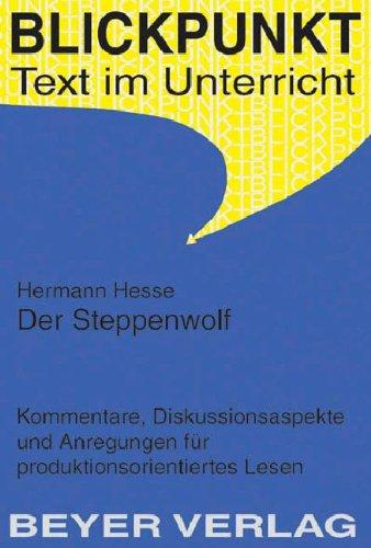 9783888055270: Der Steppenwolf