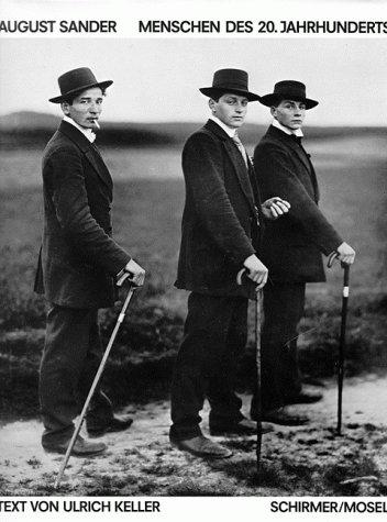 August Sander. Menschen des 20. Jahrhunderts. Portraitphotographien 1892-1952.: Sander, Gunther (...