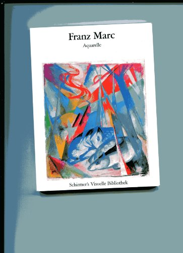 Aquarelle: Franz Marc