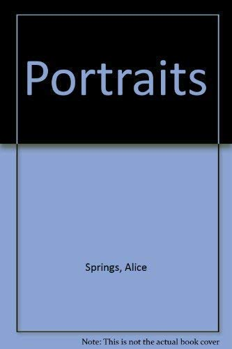 Portraits . - signiert: Springs, Alice