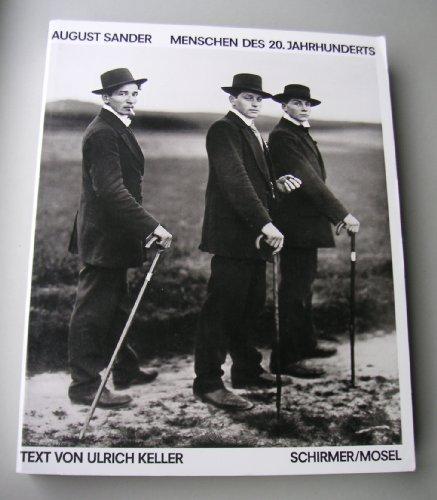 9783888147234: August Sander: Menschen des 20. Jahrhunderts