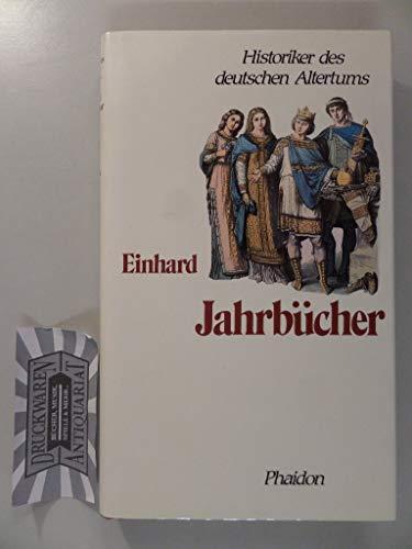 9783888511011: Einhards Jahrbücher.