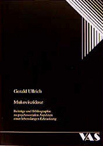 9783888642548: Mukoviszidose : Beiträge und Bibliographie zu psychosozialen Aspekten einer lebenslangen Erkrankung